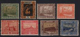 SARRE SAARGEBIET SAARLAND Poste  83 - 84 - 86 - 87 - 91 - 92 - 93 - 94 * MH Sites Et Paysages (CV 14,90 €) - 1920-35 League Of Nations