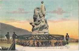 26847. Postal MONACO. Monument Colonie Etrangere 25 Anniversaire Regne - Mónaco