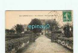 - 28 - LA LOUPE - VENTE à PRIX FIXE -   Le Château - Vue Prise Du Parc - La Loupe