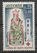 1964 ANDORRE Français 172* Vierge De Ste Coloma, Charnière Propre, Hinge - French Andorra