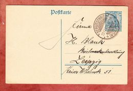 P 120 Germania, Schussenried Nach Leipzig 1921 (44779) - Deutschland