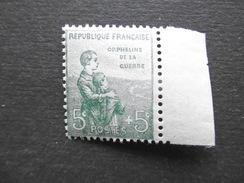 France N° 149 Bdf Neuf ** TB - Neufs