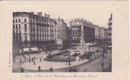 CPA -   5. LYON - Place De La République Et Monument Carnot - Lyon