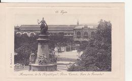 CPA -   13. LYON - Monument De La République Place Carnot Gare De Perrache - Lyon