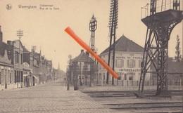 WAREGHEM - Statiestraat - Rue De La Gare - Avec Hôtel Du Pavillon, Voiture à Louer - Waregem