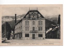 Cpa.38.Saint Laurent Du Pont.La Distillerie BONAL. - Saint-Laurent-du-Pont