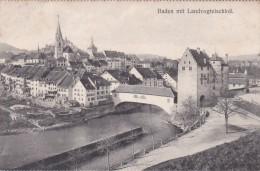 Baden Mit Landvogteischloß (9430) - AG Aargau