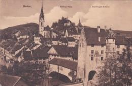 Baden - Schloss Stein - Landvogtei-Schloss * 30. VI. 1913 - AG Aargau