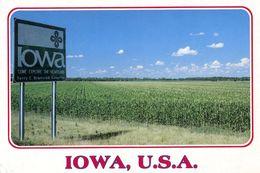 America USA Etats-Unis Iowa Heartland Photo Dunlap - Etats-Unis