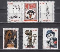 MONACO 2005 ( SERIE CIRQUE N° 2523 A 2527 ) NEUFS** - Monaco
