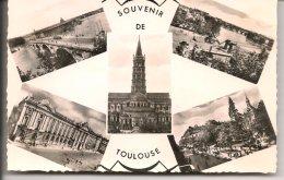 L15F_351 - Toulouse - Carte Multi-vues - Toulouse