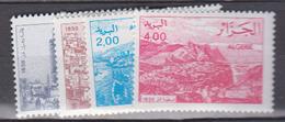 ALGERIE     1984           N . 801 / 804       COTE     4 , 15   EUROS        ( S 48 ) - Algérie (1962-...)