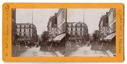 VINCENNES - Le Mat De Cocagne, Place De La Gare - 14 Juillet 1897 - Vincennes