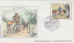 Enveloppe  FDC   1er   Jour     Oeuvre  De   Maurice  UTRILLO     1983 - FDC