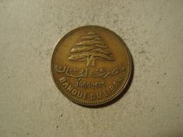 MONNAIE LIBAN 25 PIASTRES 1969 - Lebanon