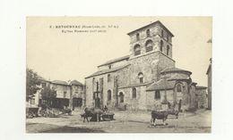 43/ CPA A - Retournac - Eglise Romane - Retournac