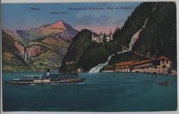 Giessbach Am Brienzersee - Blick Auf Rothorn - Dampfschiff - BE Berne
