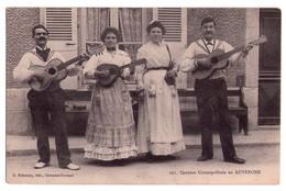0156 - Auvergne - Quatuor Cosmopolitain - G.Delannay édit. à Cl.-Fd - N°221 - Musique