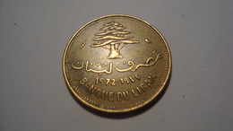 MONNAIE LIBAN 10 PIASTRES 1972 - Lebanon
