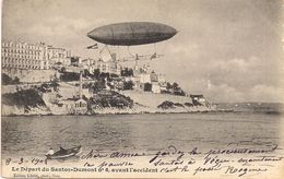 Aviation - Dirigeable Santos-Dumont -1902 - Dirigibili