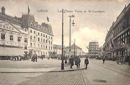 Liège - Les Places Verte Et St Lambert (animée) - Liege