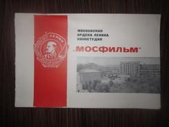 "1967 RUSSIA ""MOSFILM"" GREETINGS CARD - Documentos Históricos"