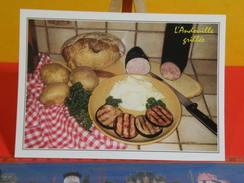 Cartes Postales > Recettes De Cuisine Française > L'Andouille Grillée > Non Circulé - Ricette Di Cucina