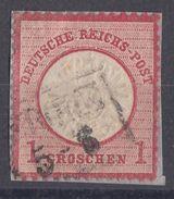 DR Minr.19 Plf.XLIV Briefstück - Deutschland