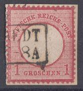 DR Minr.19 Plf.XXI Briefstück - Gebraucht