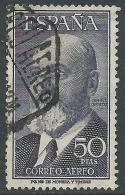 1955 SPAGNA POSTA AEREA USATO LEONARDO TORRES QUEVEDO - R11-2 - Usati