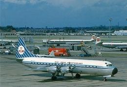 Aviation Postcard-525 KLM L-188 Electra - 1946-....: Moderne