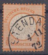 DR Minr.18 Plf.VIII Gestempelt Stendal 4.11.72 - Deutschland