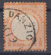 DR Minr.18 Plf.XII Gestempelt Danzig - Deutschland