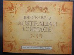 Australia 2010 1$ Dollar A D H P Australian Coinage  UNC Original Folder - Mint Sets & Proof Sets