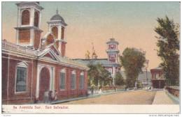 POSTAL DE SAN SALVADOR DE LA 8ª AVENIDA SUR (PAPELERIA MODERNA) (EL SALVADOR) - El Salvador