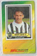 ITALY 2000 FOOTBALL ROBERTO BAGGIO JUVENTUS MINT - Sport