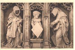 (01) Ain - CPA - Bourg-en Bresse - Bourg - Eglise De Brou - Figures Du Mausolée De Marguerite De Bourbon - Eglise De Brou