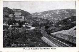 HAJASD (Ukraine) 1917 - Karpathen Des Uzsoker Passes, Sonderstempel K.u.k. Etappen-Schlachtviehdepot 58 II, Karte ... - Ukraine