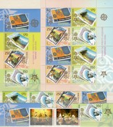 Tanz 1998 Macedonia 128/9+370/3,ER,KB,Block 13 ** 134€ Mutter Teresa Bloc Stamp On Stamps Sheetlet Bf 50 Jahre CEPT - Macédoine