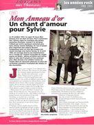JOHNNY HALLYDAY / SYLVIE VARTAN  Mes Chansons  1965 Mon Anneau D'Or Avec Paroles Sur 2ème Scann - Posters