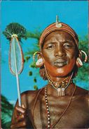 Samburu Tribesman Tribu Tribe Tribal  Afrika Etnic Postkaart Postcard CPA KENIA KENYA - Kenya