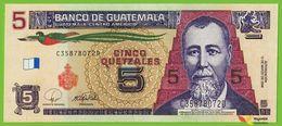 Voyo GUATEMALA 5 Quetzales 12.03.2008 P116 C-D UNC - Guatemala