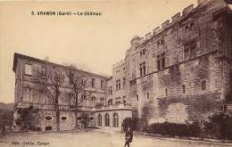 30 ARAMON  LE CHATEAU   écrite En 1937 - Aramon