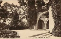 30 ARAMON  LE CHATEAU   écrite - Aramon