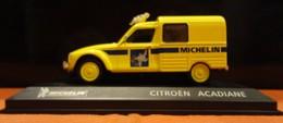 "Voiture - Citroën Acadiane ""Michelin"" - 1/43 (bibendum) - Autres"