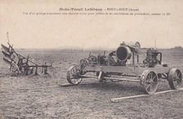 Pont à Bucy.Moto Treuil LEFEBURE. - France