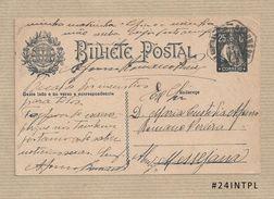 Portugal #24 Inteiro Postal Postal Stationery Circulado Lisboa /Messejana 1925 Ceres 25C - Enteros Postales