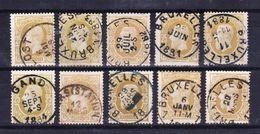 België Kleine Verzameling Nr 32 G, Zeer Mooi Lot Krt 3825,  KOOPJE,  Bieden Vanaf 1 € - Timbres