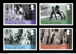 Tristan Da Cunha 2017 80th Anniversary Of The Norwegian Tristan Expedition 4v MNH - Tristan Da Cunha