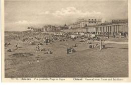 Oostende Ostend - 92 - Vue Générale, Plage Et Dique - General View, Shore And Sea-front - Albert - Oostende